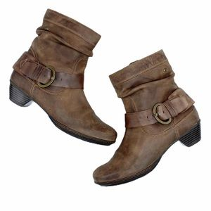 Pikolinos Brujas Slouch Harness Ankle Boot SZ 40